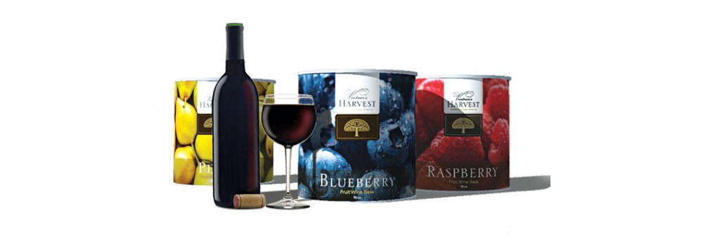 Vintner's Harvest Pure Fruit Wine Bases use only premium quality pure fruit, packed in it's own juice, with no artificial preservatives. Prepared especially for wine makers. VINTNER'S HARVEST offers the home wine maker year round supply of premium quality fruit.