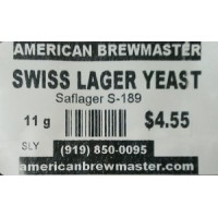 Swiss Lager Yeast - Saflager S-189, 11 g